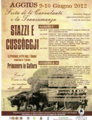 Stazzi e Cussogghj 2012 – I Edizione
